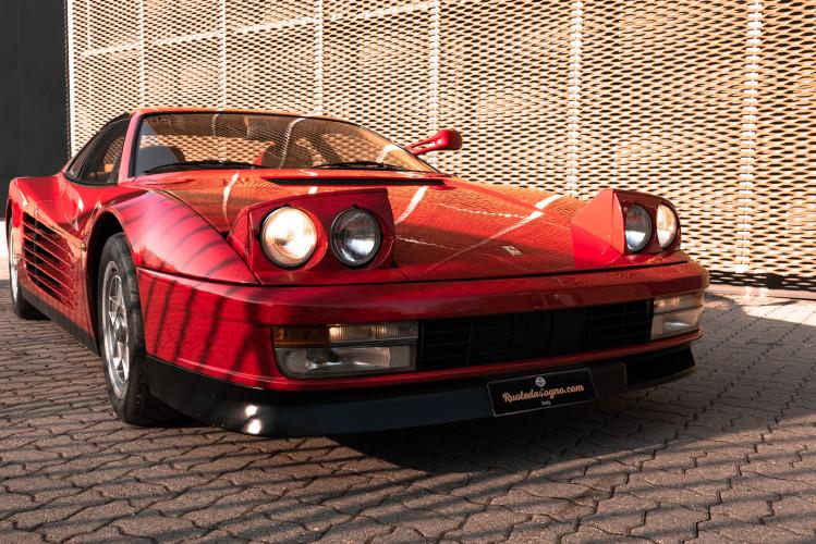 """1985 Ferrari Testarossa """"Monospecchio - Monodado"""" 5"""