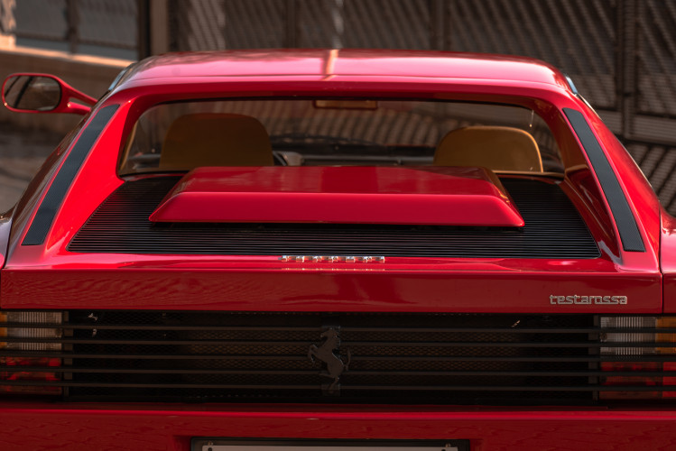 """1985 Ferrari Testarossa """"Monospecchio - Monodado"""" 10"""