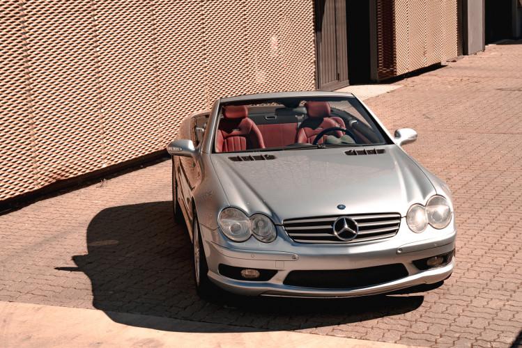 2002 Mercedes Benz SL55 AMG 12