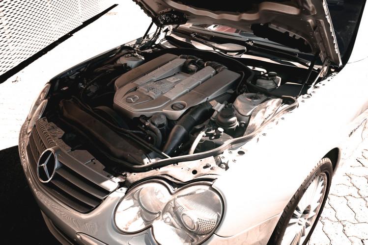 2002 Mercedes Benz SL55 AMG 43