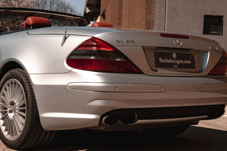 2002 Mercedes Benz SL55 AMG 6