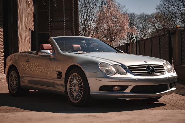 2002 Mercedes Benz SL55 AMG 4