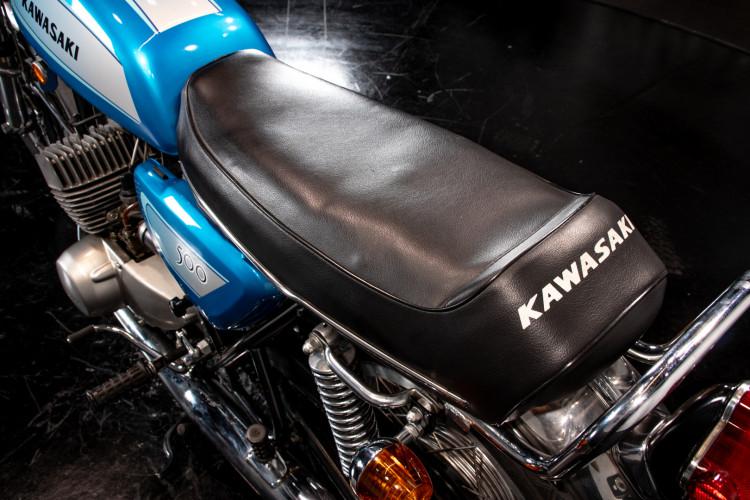 1971 Kawasaki Mach III H1 500 23