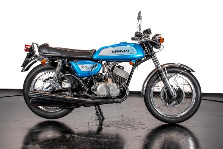 1971 Kawasaki Mach III H1 500 1