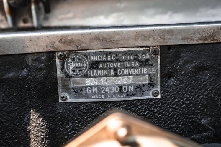 1963 Lancia Flaminia Touring Convertible 2500 3C  49