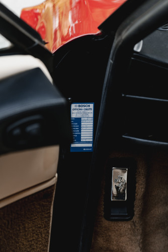 1988 FERRARI 208 GTS TURBO INTERCOOLER 36