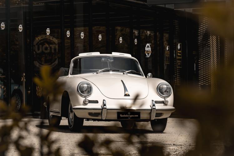 1964 PORSCHE 356 C Cabriolet 1600 SC 6