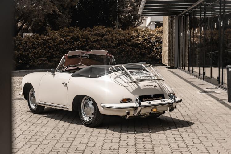 1964 PORSCHE 356 C Cabriolet 1600 SC 2