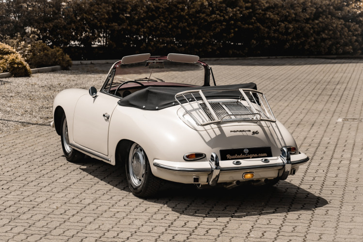 1964 PORSCHE 356 C Cabriolet 1600 SC 3