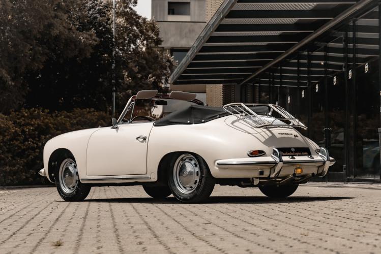 1964 PORSCHE 356 C Cabriolet 1600 SC 1