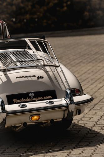 1964 PORSCHE 356 C Cabriolet 1600 SC 12