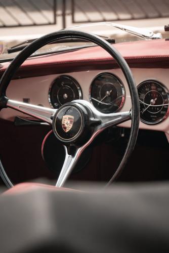 1964 PORSCHE 356 C Cabriolet 1600 SC 33