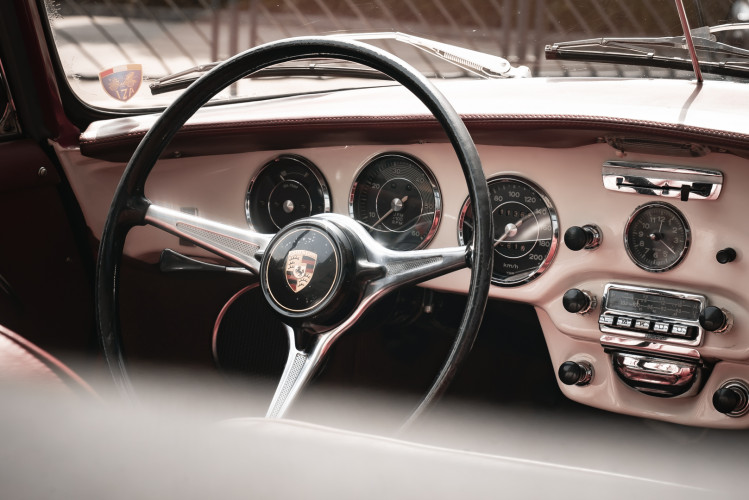 1964 PORSCHE 356 C Cabriolet 1600 SC 35