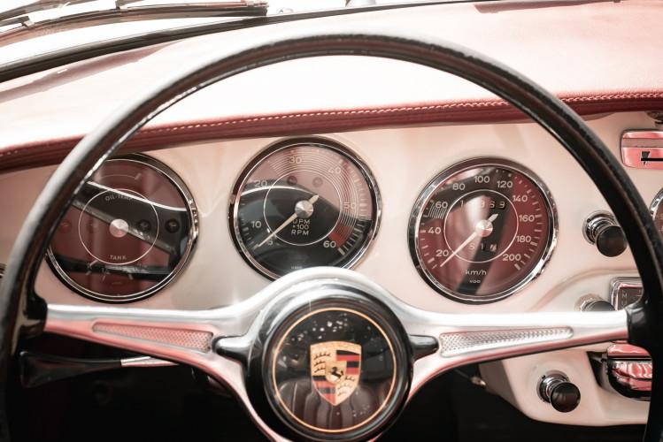 1964 PORSCHE 356 C Cabriolet 1600 SC 30