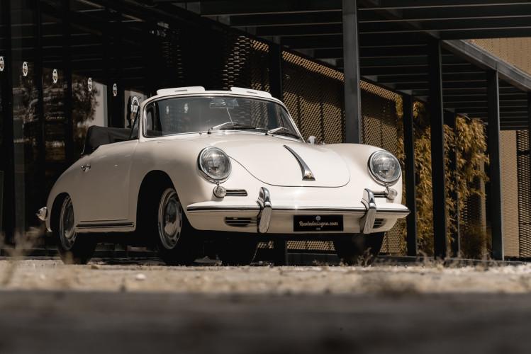 1964 PORSCHE 356 C Cabriolet 1600 SC 10