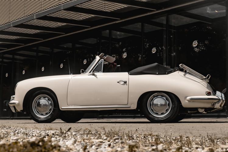 1964 PORSCHE 356 C Cabriolet 1600 SC 25