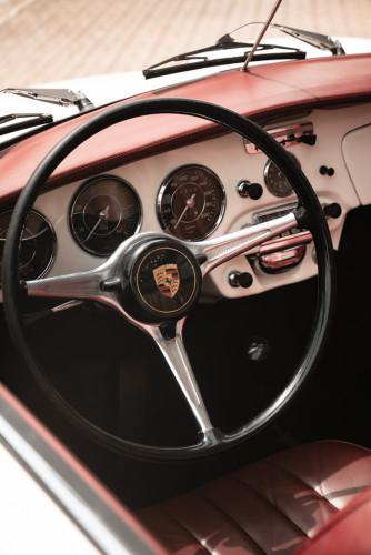 1964 PORSCHE 356 C Cabriolet 1600 SC 21