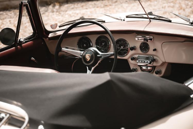 1964 PORSCHE 356 C Cabriolet 1600 SC 23
