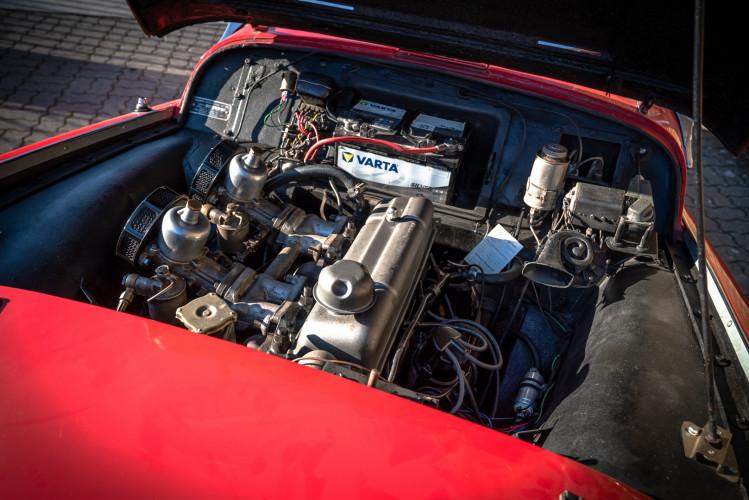 """1958 Triumph TR3A """"Small Mouth"""" 26"""