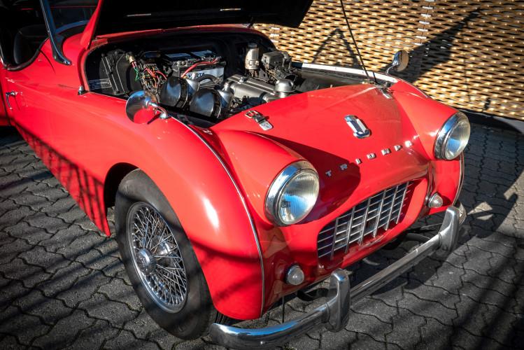 """1958 Triumph TR3A """"Small Mouth"""" 28"""