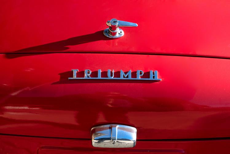 """1958 Triumph TR3A """"Small Mouth"""" 29"""