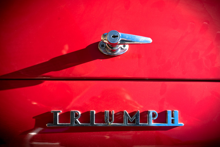 """1958 Triumph TR3A """"Small Mouth"""" 8"""