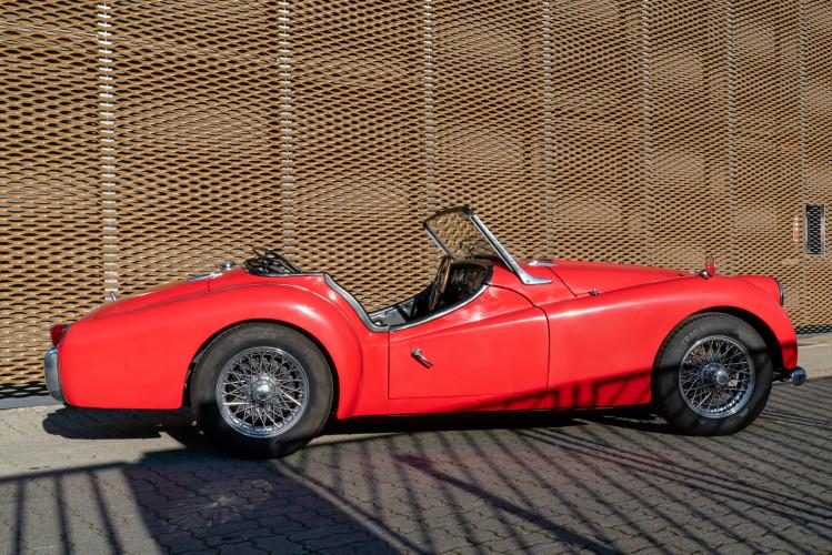 """1958 Triumph TR3A """"Small Mouth"""" 2"""