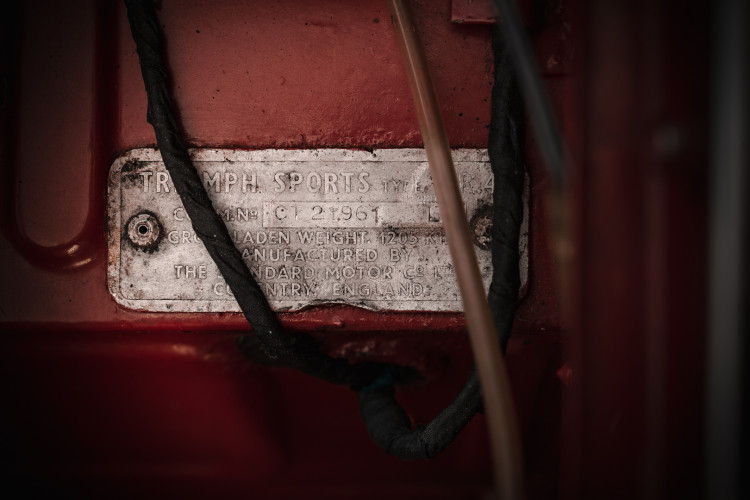 1963 Triumph TR4 38