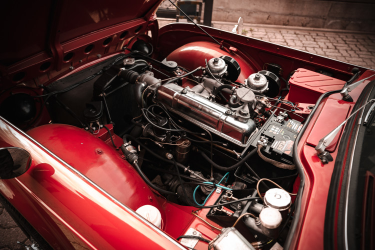 1963 Triumph TR4 36