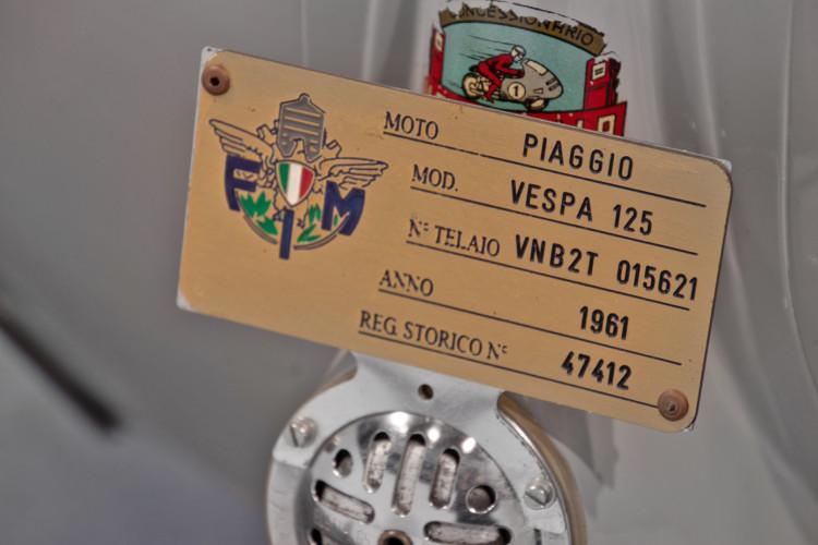 1961 Piaggio Vespa 125 15