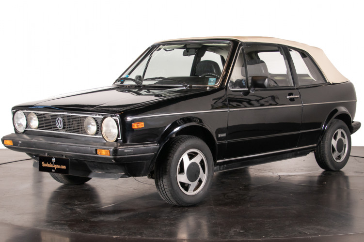 1985 Volkswagen Golf Cabriolet 25