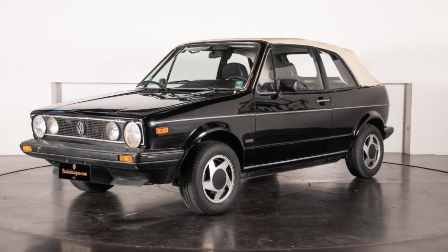 1985 Volkswagen Golf Cabriolet 0