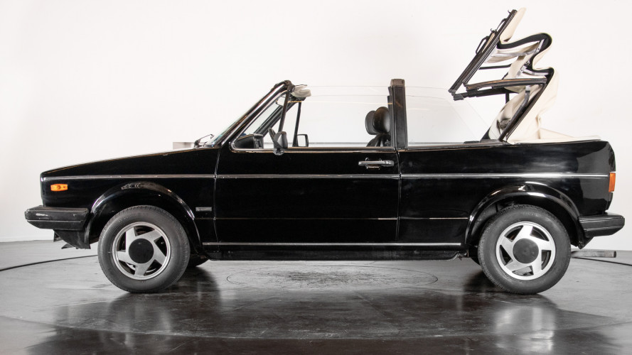 1985 Volkswagen Golf Cabriolet 9