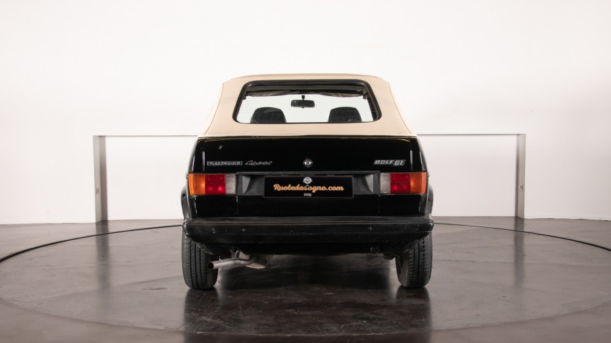 1985 Volkswagen Golf Cabriolet 4