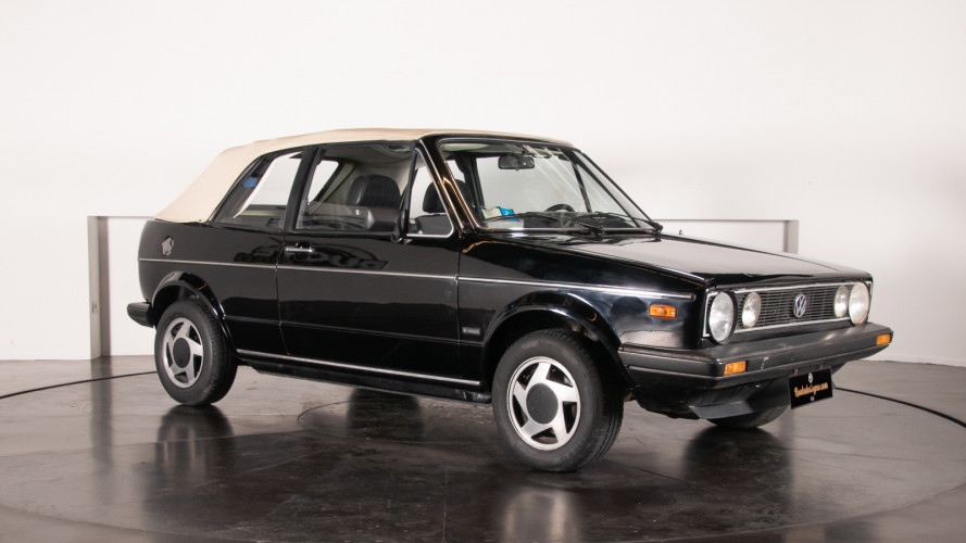 1985 Volkswagen Golf Cabriolet 5