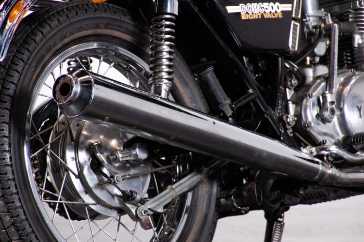 1976 Yamaha TX 500 6