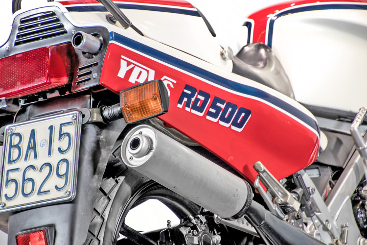 1985 YAMAHA RD 500 10