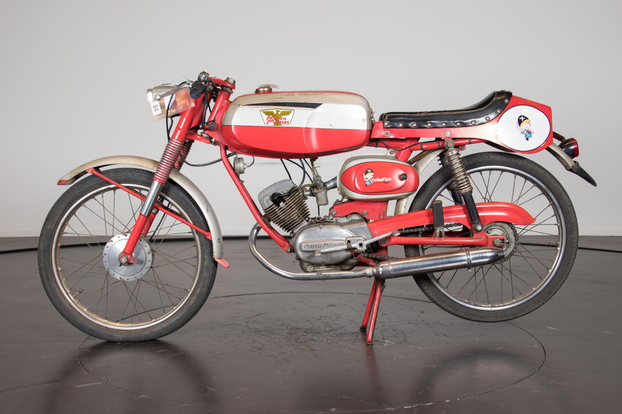 1966 Moto Morini Corsarino 50 Zz Moto Morini Moto D